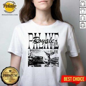 Palaye Royale Merch You'll Be Fine V-neck- Design by Potatotees.com