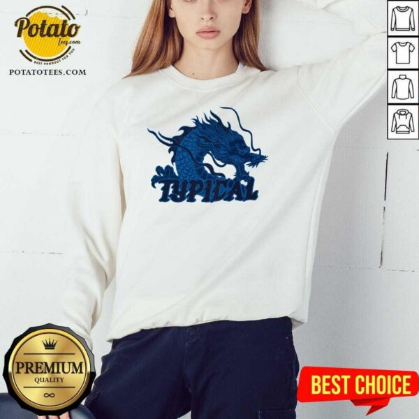 Typical Gamer Merch Scales Crystal Sweatshirt- Design by Potatotees.com