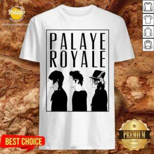 Palaye Royale Merch Silhouette Shirt- Design by Potatotees.com