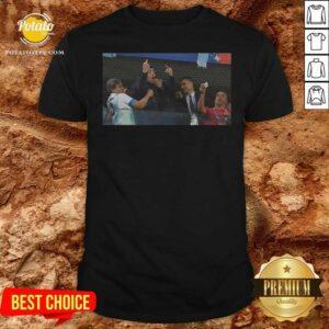 Funny RIP Diego Armando Maradona Flipping The Bird Middle Finger Shirt - Design By Potatotees.com