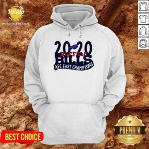 2020 Buffalo Bills Afc East Champions Hoodie- Design by Potatotees.com