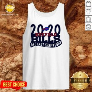 2020 Buffalo Bills Afc East Champions Tank-Top- Design by Potatotees.com