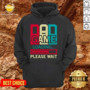 Good Gamers Dad Game Loading Please Wait Hoodie - Design by Potatotees.com