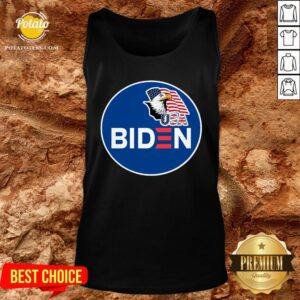 Hot Biden Eagle American Flag USA Election Tank Top - Design By Potatotees.com