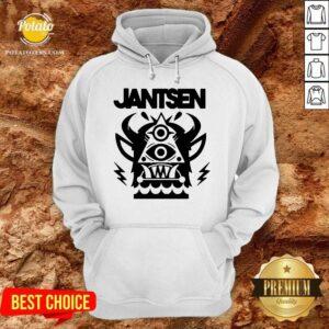 Nice Jantsen Merch Monster Hoodie - Design by Potatotees.com