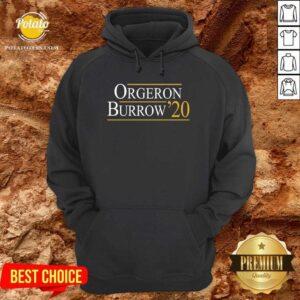 Orgeron Burrow 2020 Hoodie- Design by Potatotees.com