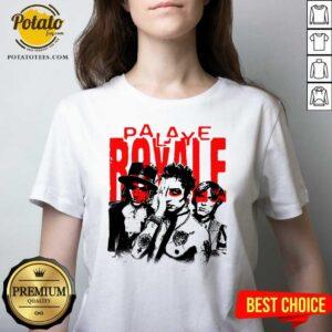 Palaye Royale Merch Photo V-neck- Design by Potatotees.com