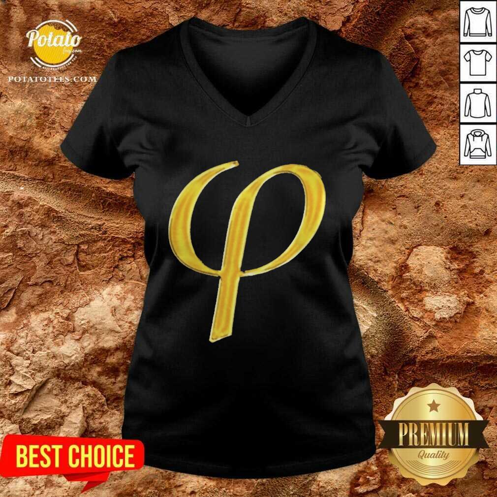 2021 Golden Ratio V-neck - Design by Potatotees.com