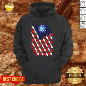 Official Bowling American Flag 2020 Hoodie - Design by potatotees.com