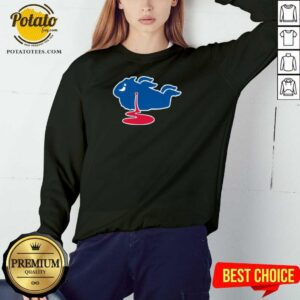 Buffalo Bills Shot Dead Logo Sweatshirt - Design by Potatotees.com