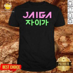 Jaiga Korean Themed With Globe Shirt- Design by Potatotees.com