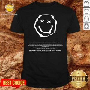 Phora Merch Saddest Smile Shirt - Design by Potatotees.com
