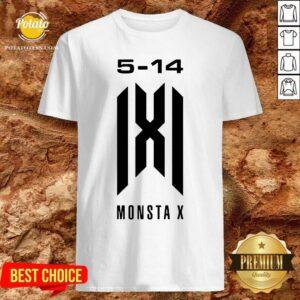 Monsta X Merch Monsta X 5-14 Anniversary Shirt - Design by Potatotees.com