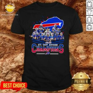 Buffalo Bills 2020 AFC East Division Champions Shirt - Design by Potatotees.com