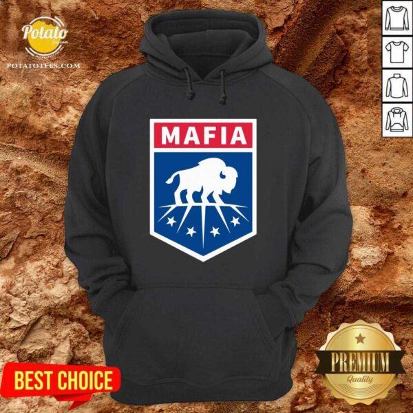 Buffalo Bills Mafia Logo Hoodie - Design by Potatotees.com
