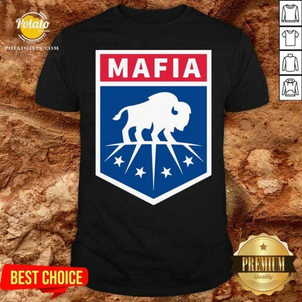 Buffalo Bills Mafia Logo Shirt - Design by Potatotees.com
