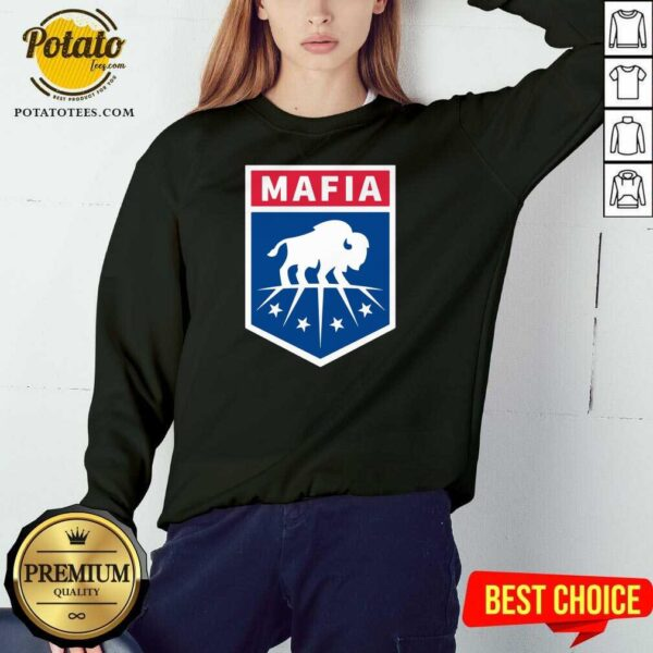Buffalo Bills Mafia Logo Sweatshirt - Design by Potatotees.com