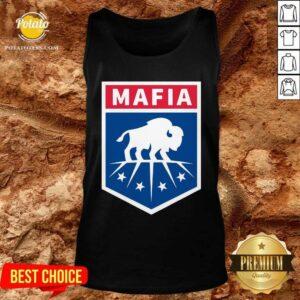 Buffalo Bills Mafia Logo Tank-Top - Design by Potatotees.com