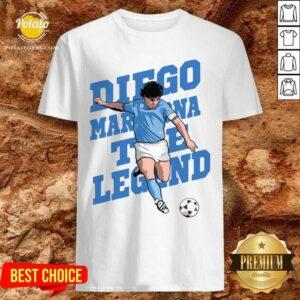 Premium RIP Diego Maradona 10 We Why Miss Your Diego Maradona Shirt- Design By Potatotees.com