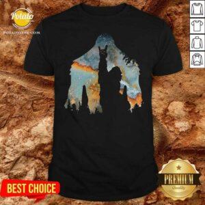 Bigfoot Rock And Roll Shirt - Design by Potatotees.com