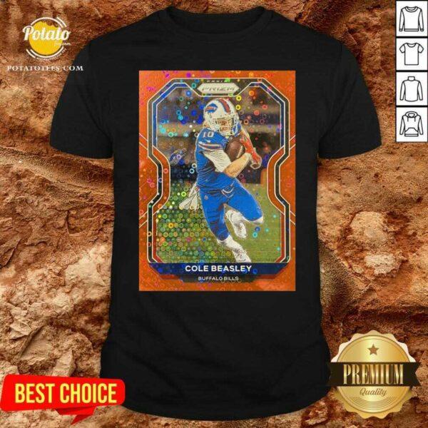Cole Beasley Buffalo Bills Shirt - Design by Potatotees.com