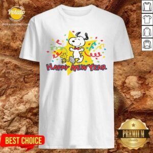 Snoopy Happy New Year Shirt - Design By Potatotees.com