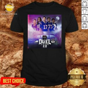 Buffalo Bills Monday Night Football Duel In The Desert 2.0 Shirt - Design by Potatotees.com