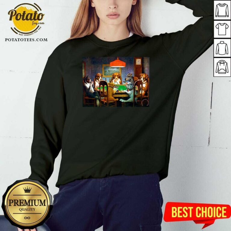 Top Dogs Cassius Marcellus Coolidge A Friend In Need Sweatshirt - Design by potatotees.com