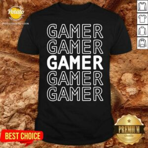 Gaming Gamer Shirt - Design by Potatotees.com