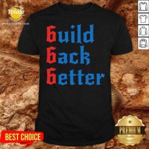 Build Back Better 666 Anti Globalist Shirt - Design by Potatotees.com