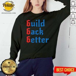 Build Back Better 666 Anti Globalist Sweatshirt - Design by Potatotees.com
