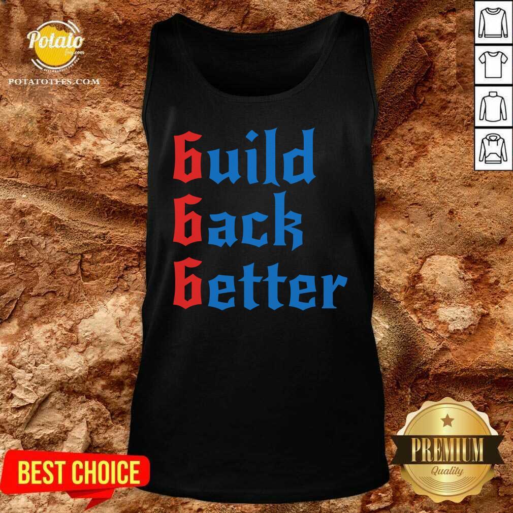 Build Back Better 666 Anti Globalist Tank-Top- Design by Potatotees.com