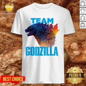 Godzilla Team Godzilla Vs Kong 2021 Shirt