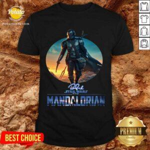 The Mandalorian Star Wars Signature Sunset Hoodie