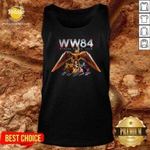 WW84 Wonder Woman 1984 Signatures Tank-Top - Design by Potatotees.com