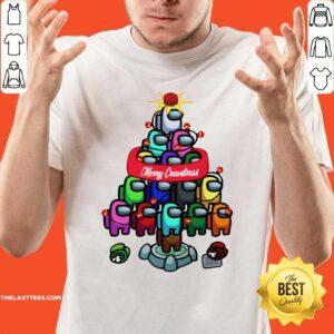 Beautiful Among Game Us Merry Christmas Shirt- Design By Potatotees.com