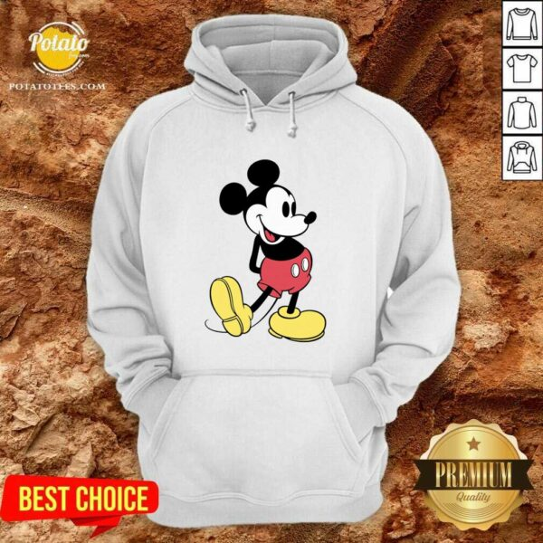 Beautiful Mickey Mouse Vintage Hoodie - Design By Potatotees