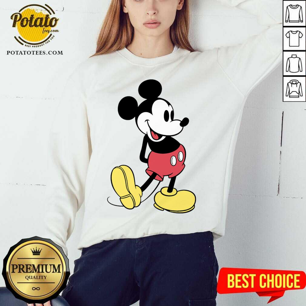 Beautiful Mickey Mouse Vintage Sweatshirt  - Design By Potatotees