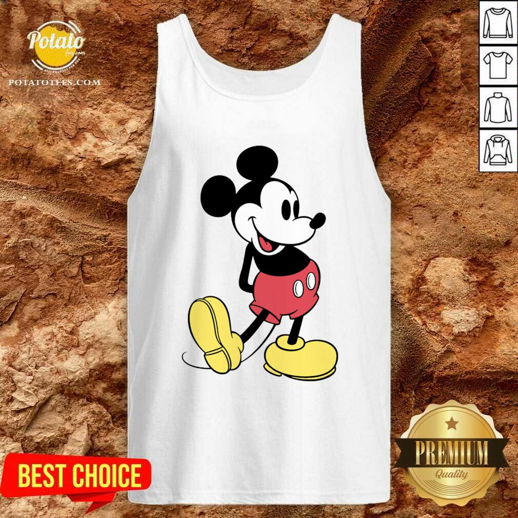Beautiful Mickey Mouse Vintage Tank Top  - Design By Potatotees