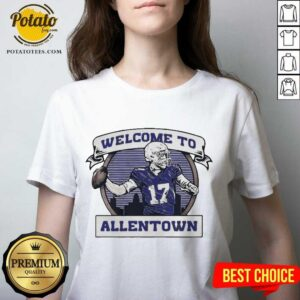 Buffalo Rumblings Welcome To Allentown V-neck