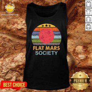 Flat Mars Society Vintage Tank-Top - Design By Potatotees.com