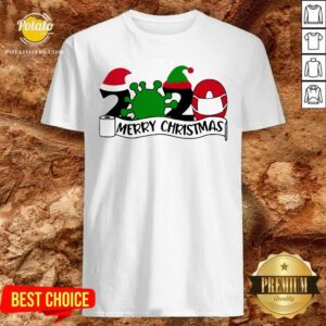 Good 2020 Mask Quarantine Toilet Paper Merry Christmas Shirt- Design By Potatotees.com