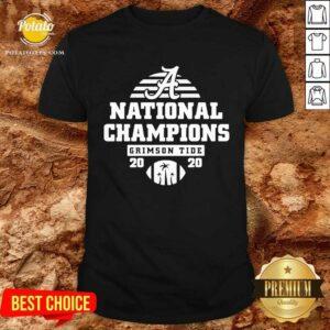 Alabama National Champions Crimson Tide 2020 Shirt