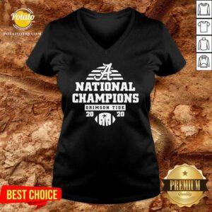 Alabama National Champions Crimson Tide 2020 V-neck