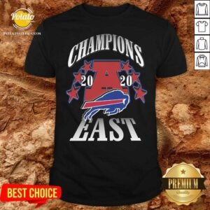 Champions 2020 Buffalo Bills East Shirt - Design By Potatotees.com