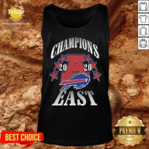 Champions 2020 Buffalo Bills East Tank-Top - Design By Potatotees.com