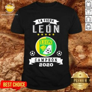 Club Leon Campeon 2020 Futbol Mexicano La Fiera Shirt