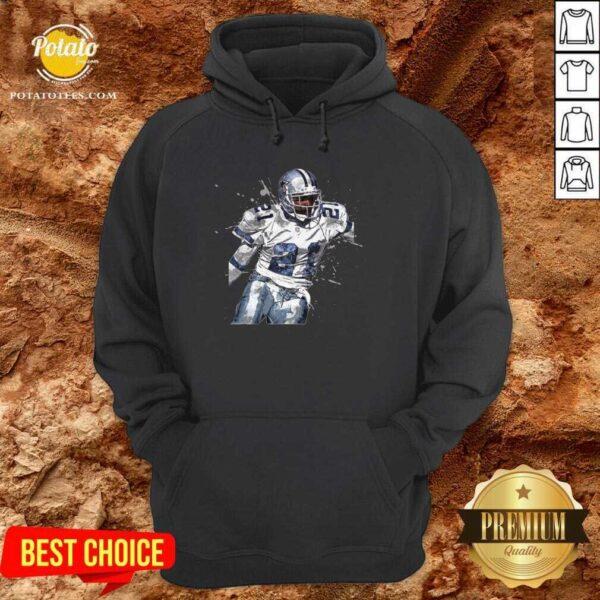 Dallas Cowboys Football Players 21 NFL Playoffs Hoodie - Design By Potatotees.com