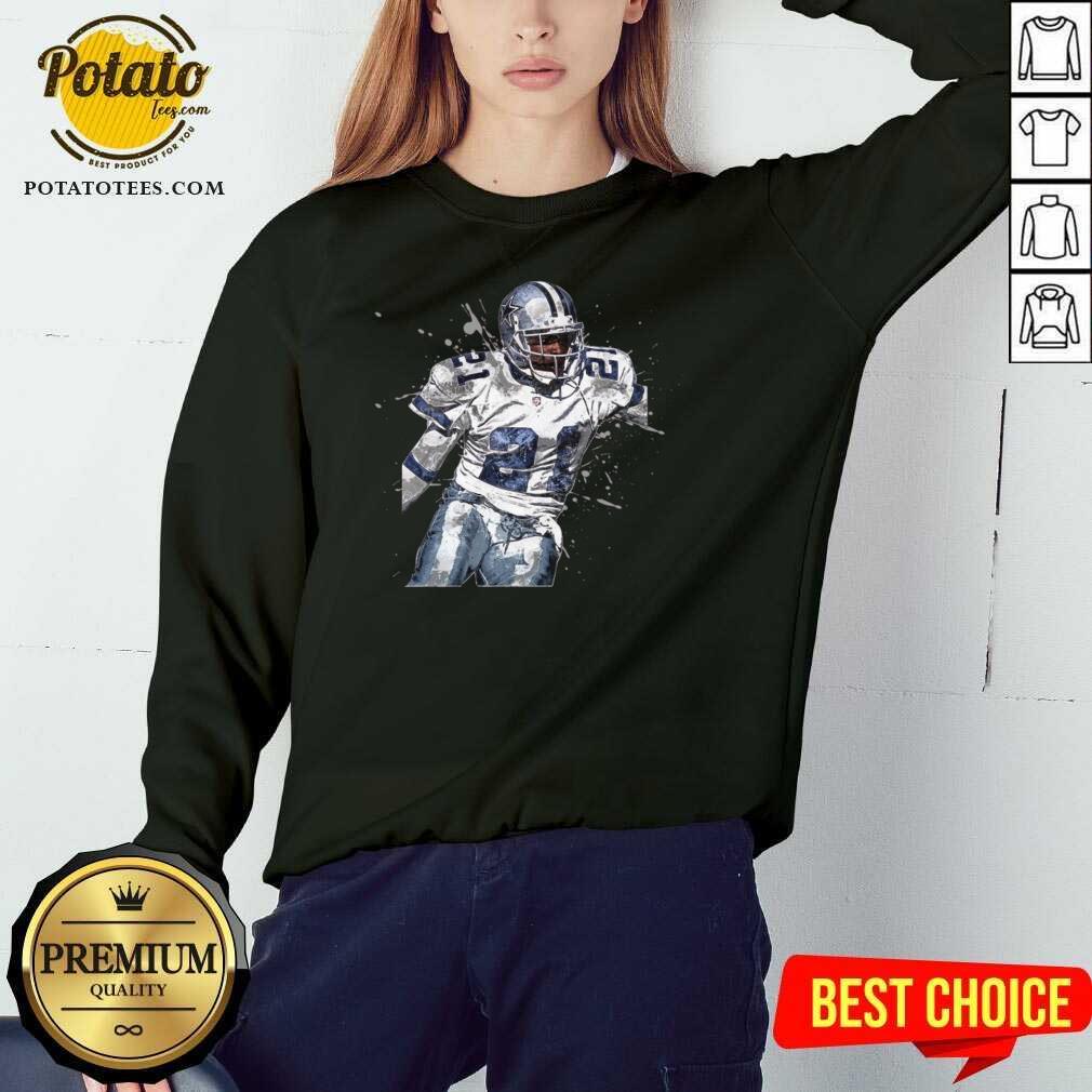 Dallas Cowboys Football Players 21 NFL Playoffs Sweatshirt - Design By Potatotees.com