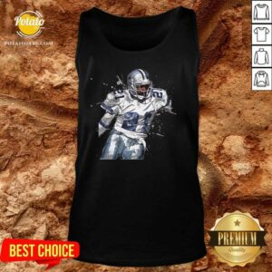 Dallas Cowboys Football Players 21 NFL Playoffs Tank-Top - Design By Potatotees.com